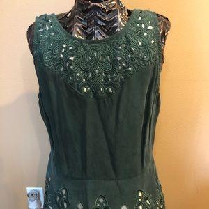 Silk tunic or dress